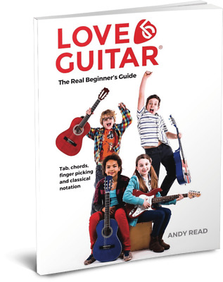 *Learn To Play Guitar Easy Beginners Book For Kids Children FREE Online Videos • 12.95£