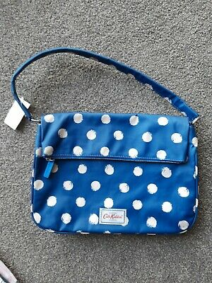 £23.90 • Buy Cath Kidston Famous Print  Blue Spotty  Bag, Reverse In 2 Sizes, Ex Displ,rrp55