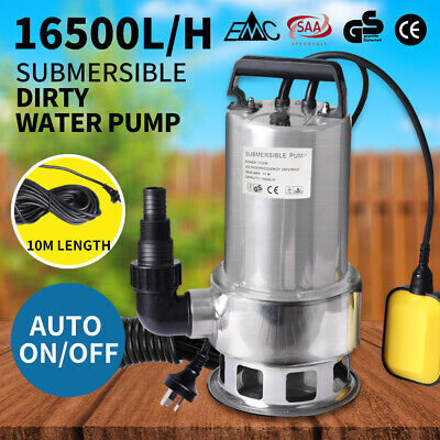 AU96.99 • Buy Water Pump Submersible 240V Electric Pressure Switch Tank Well Automatic Clean