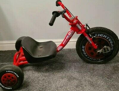 Lightning McQueen Kids Trike Drift Style Red Rare Free UK Delivery  • 69.99£