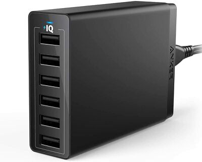 AU92.35 • Buy 60W 6-Port USB | Wall Charger, Powerport 6 For IPhone X/ 8/7 / 6S / Plus, IPad