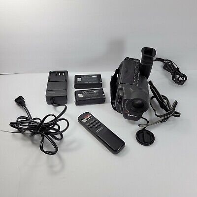 $ CDN50 • Buy Canon ES2000 HI8 8mm Video8 Camcorder Accessories Bag Battery Untested As Is