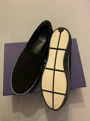 Stuart Weitzman Black Trainer Shoes Size UK 5 EUR 38 New In Box • 55£