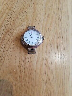 £75 • Buy 1920s Ladies 9ct Gold Trench Watch