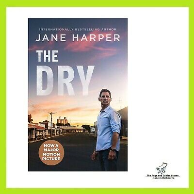 AU13 • Buy The Dry Film Tie-In By Jane Harper Paperback Book FREE SHIPPING AU NEW