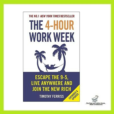 AU29 • Buy The 4 Hour Work Week Tim Ferriss Paperback Book Four 9 5 Escape Free Shipping