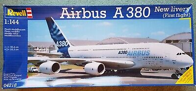 Revell AIRBUS A380 (first Flight) 1:144 Kit FREE UK P&p  • 25£