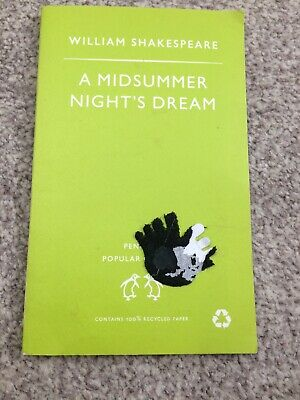 USED IN VGC A MIDSUMMER NIGHTS DREAM By William Shakespeare. • 3.50£