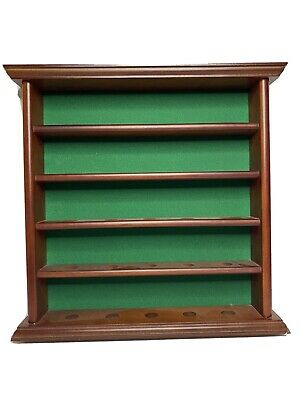 Wooden Golf Ball Display Cabinet Case Rack Wall Mount Gift Hold Souvenir Trophy • 17.51£