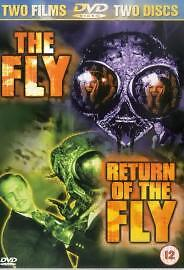 Vincent Price The Fly / Return Of The Fly Classic Horror Dvd • 5.99£