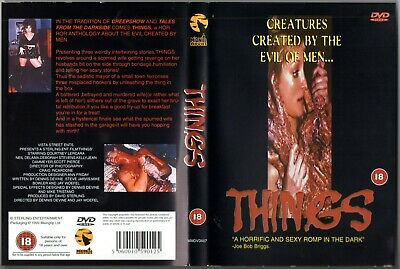 Rare Horror (DVD, 2000)-Things-Midnite Movies Sterling Entertainment  Gore • 4.99£