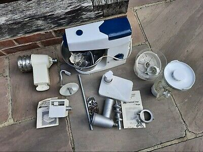 Vintage Kenwood Chef Food Mixer - Model A701A With Accessories Galore!! • 71£