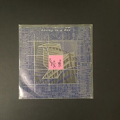 """Living In A Box  Living In A Box 7"""" Single Chrysalis Records 1987 VG • 2.15£"""