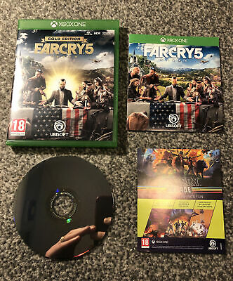 AU26.13 • Buy Far Cry 5 Gold Edition - Microsoft Xbox One X Enhanced Game Mint PAL FREE UK P&P