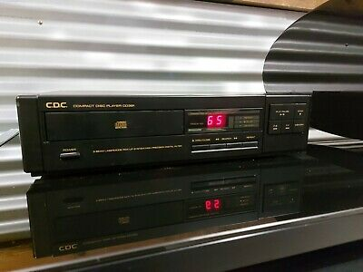 AU100 • Buy CDC CD Player - Made In JAPAN - Compact Disc Player - Model CD391