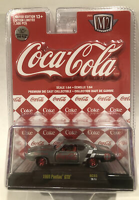 $ CDN104.62 • Buy M2 MACHINES COCA-COLA '69 PONTIAC GTO RAW CHASE CAR 1 Of 250