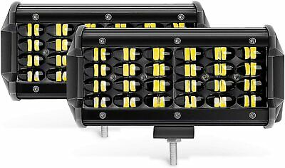 AU46.99 • Buy Autofeel 8inch Led Light Bar Flood Spot Combo Offroad Work Driving 4WD Truck ATV
