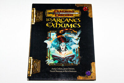 AU233.60 • Buy Dungeons & Dragons 3.5 - Les Arcanes Exhumees