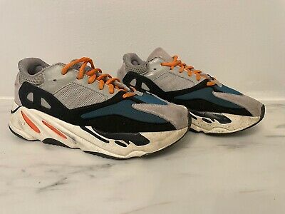 $ CDN210.14 • Buy Adidas Yeezy Boost 700 Wave Runner Solid Grey /Chalk White (B75571) Size 8.5