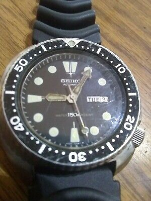 $ CDN165.87 • Buy Nice! SEIKO! 63rd Diver 6309-7040 Automatic Analog Watch Day Date Antique Rare!!