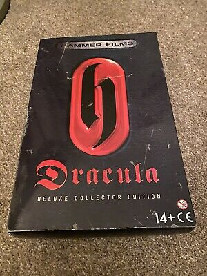 £180 • Buy Deluxe Hammer Dracula Christopher Lee Figure Boxed With Diary Cross Candle