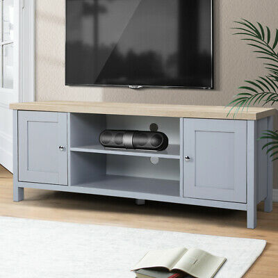 AU129.90 • Buy Artiss TV Cabinet Entertainment Unit Stand French Provincial Storage Grey
