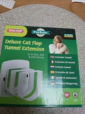 Staywell Petsafe  Deluxe Cat Flap Tunnel Extension To Fit 300 400 And 500 Series • 5.50£