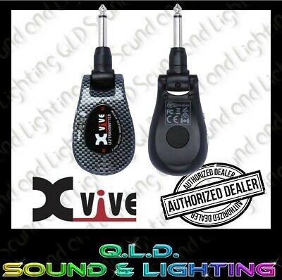 AU185 • Buy XVIVE U2 2.4 GHz Guitar Wireless System With Carbon Fibre Look