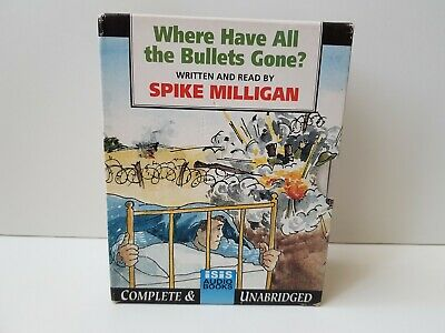 Where Have All The Bullets Gone: Spike Milligan (6x Audio Cassette, Isis, 1985) • 9.99£