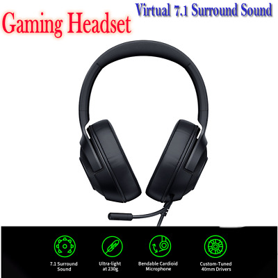 AU63.99 • Buy Razer Kraken Essential X Gaming Headset 7.1 Surround Sound Headphone For PC PUBG