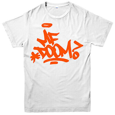 £11.99 • Buy MF Doom Signature T-Shirt, J Dilla Madlib Throw Hip Hop Music Lovers Gifts Top