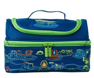 $ CDN31.96 • Buy SMIGGLE Double Decker Strap Lunch Bag Lunchbox NEAT Lunch Box, Robots & 🎮 Game