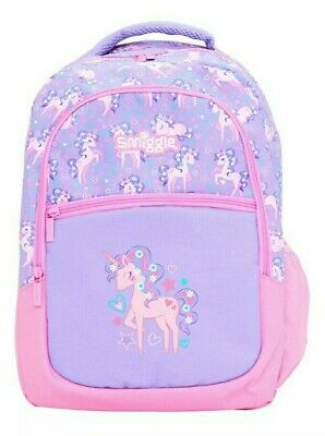 AU69.95 • Buy SMIGGLE  JUMP  LARGE BACKPACK SCHOOL BAG FOR GIRLS, 🦄Unicorns & Flowers 🌸