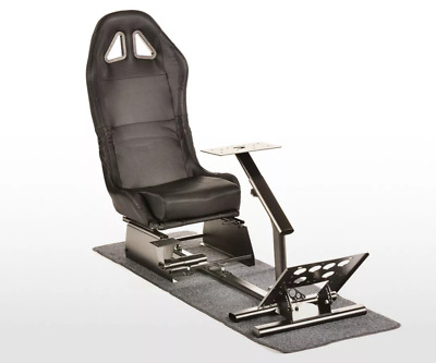 Simulator ChairRacing Seat Driving Game Xbox Playstation PC F1 VR Gaming Wheel • 279£