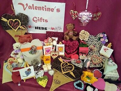 Romantic Gifts - Rattan & Wood Hearts See Other Listings For Other Items • 5.99£