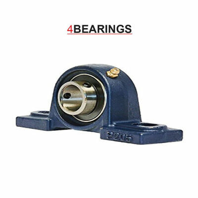 Ucp206 30mm Bore Np30 Pillow Block Housing Unit Bearing Complete - High Quality • 9£