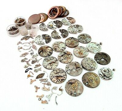$ CDN38.21 • Buy Great Lot Wrist Watches Chronograph Movements Mechanic Vintage For Parts