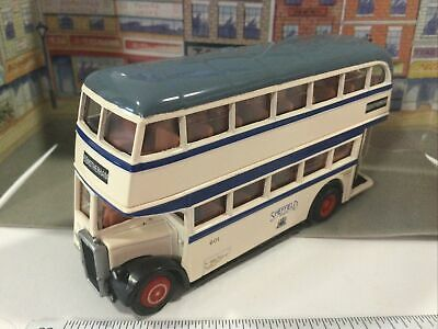 $ CDN2.49 • Buy Vintage Exclusive First Editions Efe Gilbow Leyland Double Decker Bus Mib 1:76