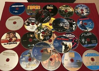 $ CDN25.52 • Buy Lot Of 25 Blu-Ray Discs Only - No Cases - Some Super Hero & Disney Lot #1/12/DVD