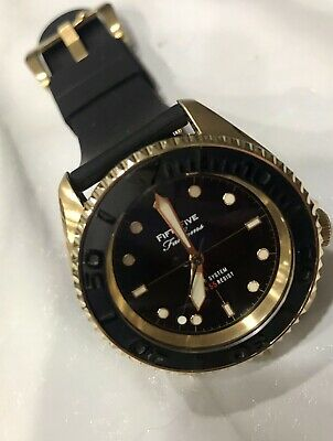 $ CDN182.23 • Buy Seiko Skx FFF Mod Watch Gold Case Yobokies Dial