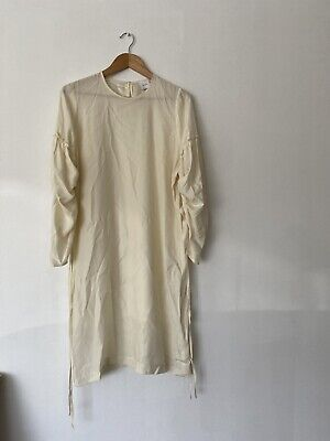 AU95 • Buy BAZ INC Clothing Size S / M Ivory Silk Blend Dress In Excellent Condition