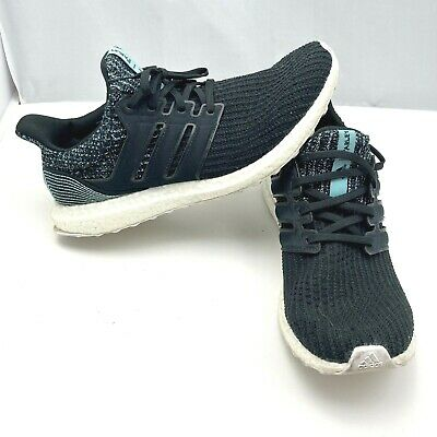$ CDN95.48 • Buy Adidas Ultra Boost Parley Core Black Cloud White Athletic Shoes Mens Size 9.5
