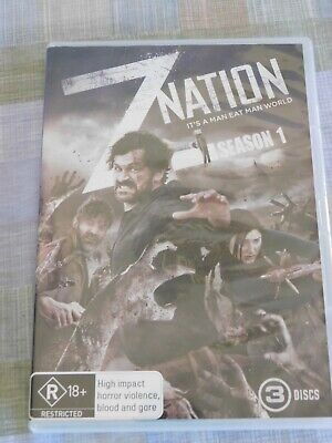 AU6.95 • Buy Z NATION : SEASON 1 :  3 Disc Set