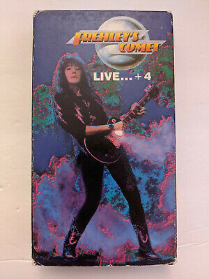 Frehley's Comet - Live... + 4 VHS 1989 Megaforce Ace Frehley Music Video • 8.84£