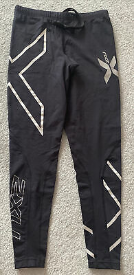 AU61.90 • Buy New ⭐️ 2XU Women's Black / Silver Long Compression Thermal Tights - Size Medium