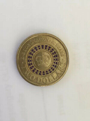 AU24 • Buy 2013 Australian Two Dollar $2 Coin PURPLE Queens Coronation