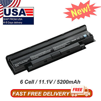 $13.01 • Buy 6Cell J1KND Battery N4010 FOR Dell Inspiron 13R 14R 17R N4050 N5010 N7010 04YRJH