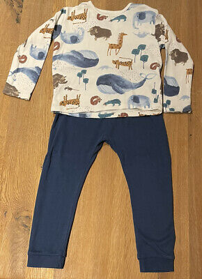 Marks And Spencer Animal Print Baby Boys Set, 2-3 Years • 4.99£