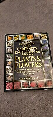 The Royal Horticultural Society Gardeners' Encyclopedia Of Plants And Flowers  • 5.50£