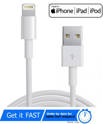 AU14.51 • Buy Genuine IPhone Charger Fast For Apple Long Cable USB Lead 5 6 7 8 X XS XR